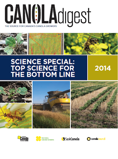Canola Science Science 2014 cover