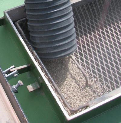 Fertilizer P going into drill