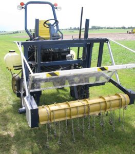 You can find some video of this AITF hail simulator at Twitter.com through the #canolapalooza16 hashtag.