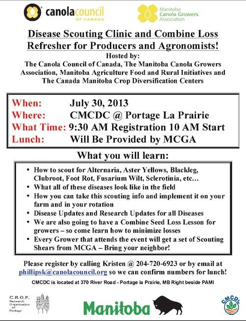 July 30 clinic