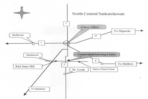 Map of UCC Prince Albert