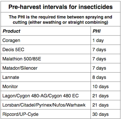 PHI insecticides