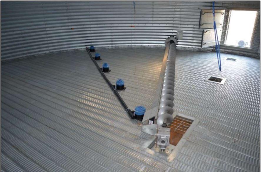 Five grain pressure sensors